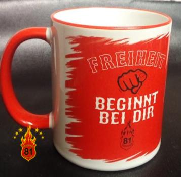 Hells Angels Support Kaffeebecher 15th ANNI-Original 81 Support Jubiläumspott