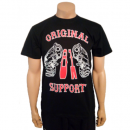 "Shirt ""GUNS & HAMMER-Support and fight for HA"""